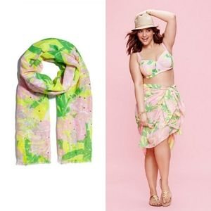 NWOT Lilly Pulitzer x Target Fan Dance Scarf